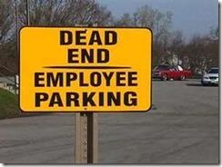 Dead-end parking