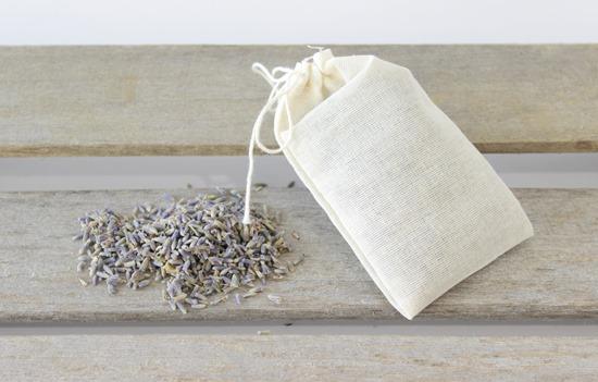 Lavender Filled Muslin Bags - www.simpleisprettyshop.com