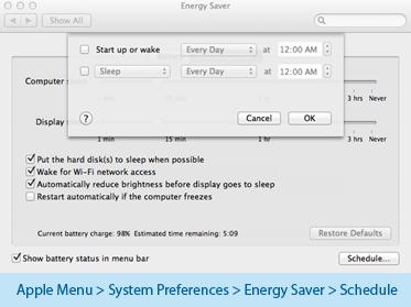 Mac Auto Shutdown Timer