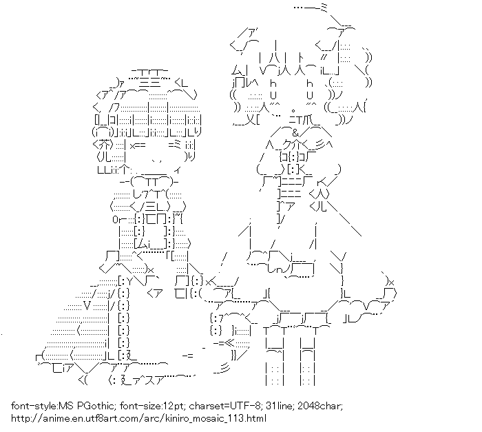 Kiniro Mosaic,Omiya Shinobu,Cartalet Alice