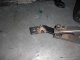 Starting the trans mount to motor mount bracket