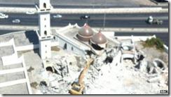 Destruio da mesquita de Al-Shaab. Ago.2012