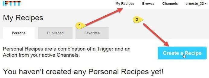 creare-ricetta-ifttt