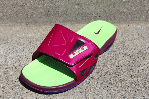 New Raspberry amp Mango Nike Air LeBron 2 Elite Slides