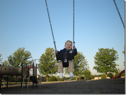 4.  Swinging