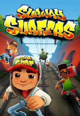 Игру subway surfers на электронную книга texet