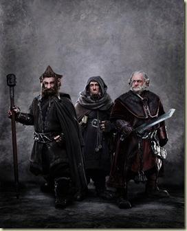 hobbit-dwarves - Dori, Ori, Nori