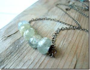 aquamarine chain neck