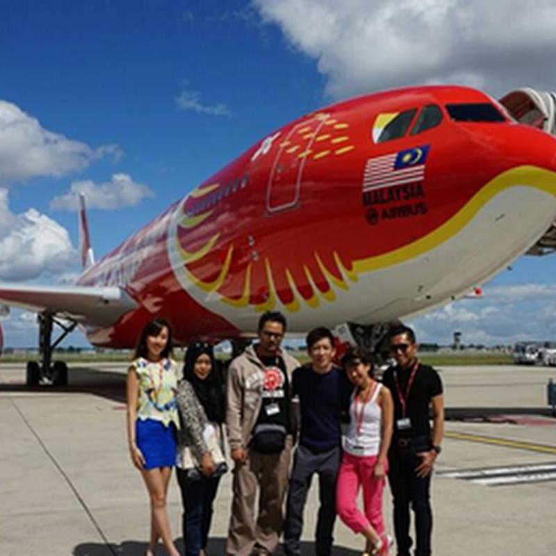 Terima kasih Air Asia X !