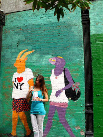 Art in New York: Lower East Side grafitti