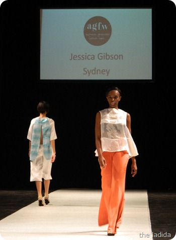 Jessica Gibson  - AGFW Fashion Show 2012 (4)