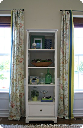 decorating bookcase