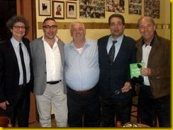 Riccardo Cucchi, Gabriele Majo, Corrado Marvasi, Tonino Raffa, Pino Colombi