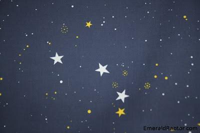 Rullegardin med stjerner på
