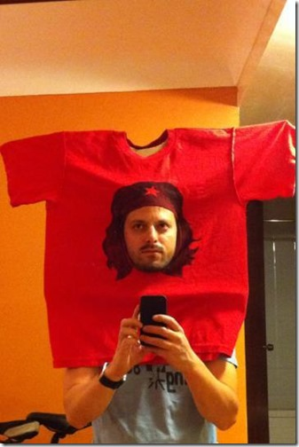 camiseta de che guevara
