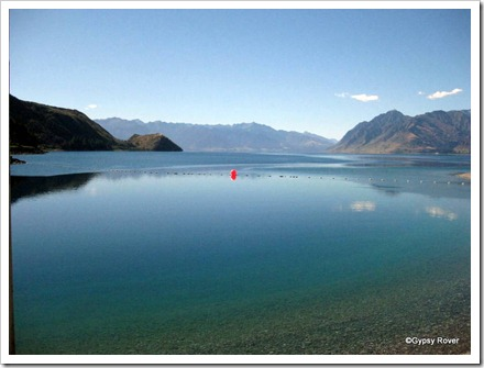 Lake Hawea.