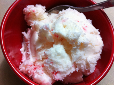 Vanilla Peppermint Ice Cream