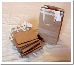 Paper Lunch Bags as Gift Bags