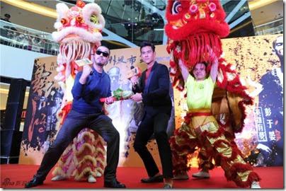 2014.11.13 Eddie Peng during Rise of the Legend - 彭于晏 黃飛鴻之英雄有夢 廣州 - 發布會 04