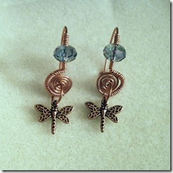 Pat Capo Spiral Earrings