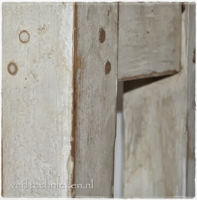 verftechnieken-hakblok-close-patina