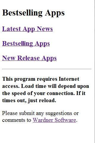 Best Selling Apps