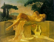 Paul Delaroche - Girl in a Basin