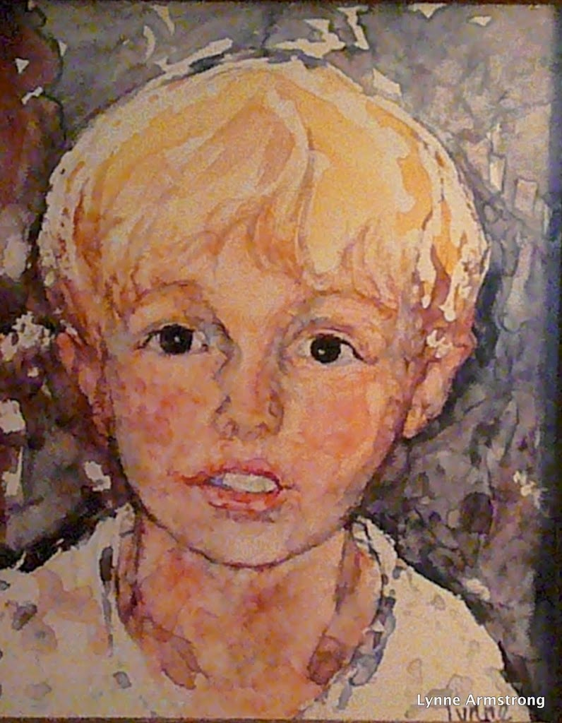 Portrait of Fynn - SOLD