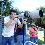 giant camera in Cape Canaveral, Florida, United States