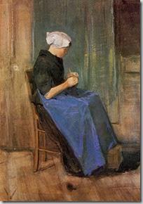 Scheveningen Woman, Van Gogh