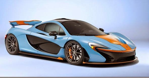 Empresário encomenda McLaren P1 com as cores da Gulf Oil