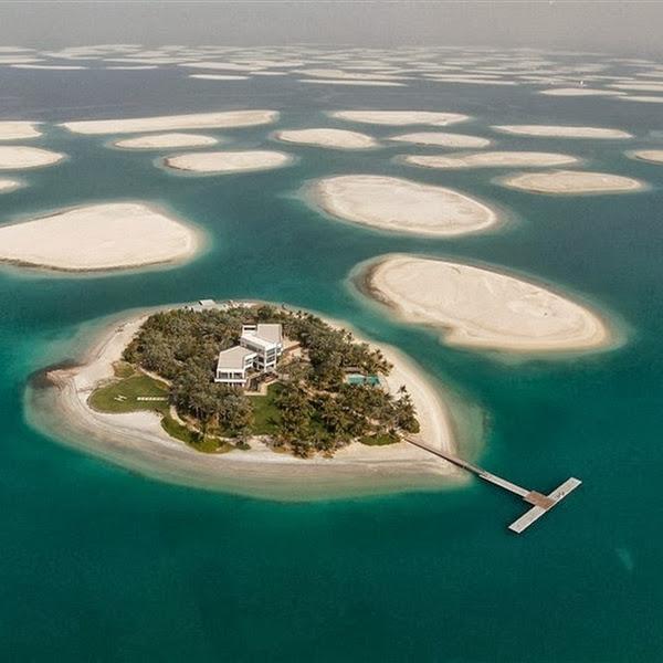 "(PHOTO) Proyek Ambisius Pulau Buatan ""The World"" di Dubai"