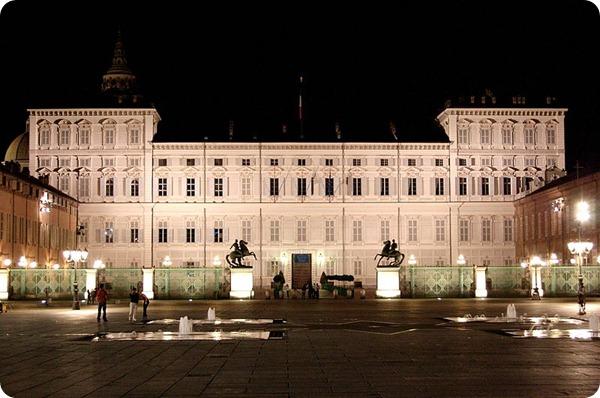 Piamonte PalazzoRealeNotteTorino