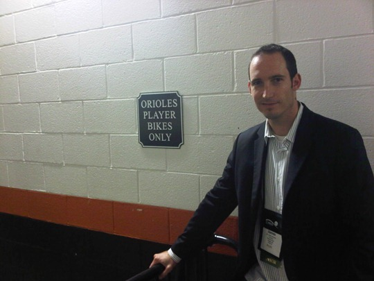 Baltimore Orioles Bicycle Parking