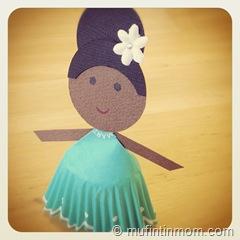 paper cupcake liner doll 03