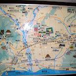 shizuoka map in Shizuoka, Sizuoka (Shizuoka) , Japan