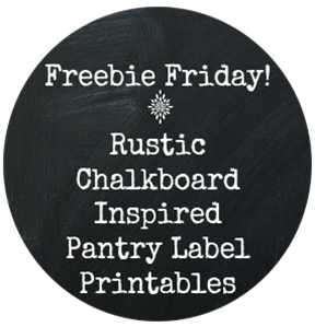 Pantry Label Printables | NewMamaDiaries.blogspot.com