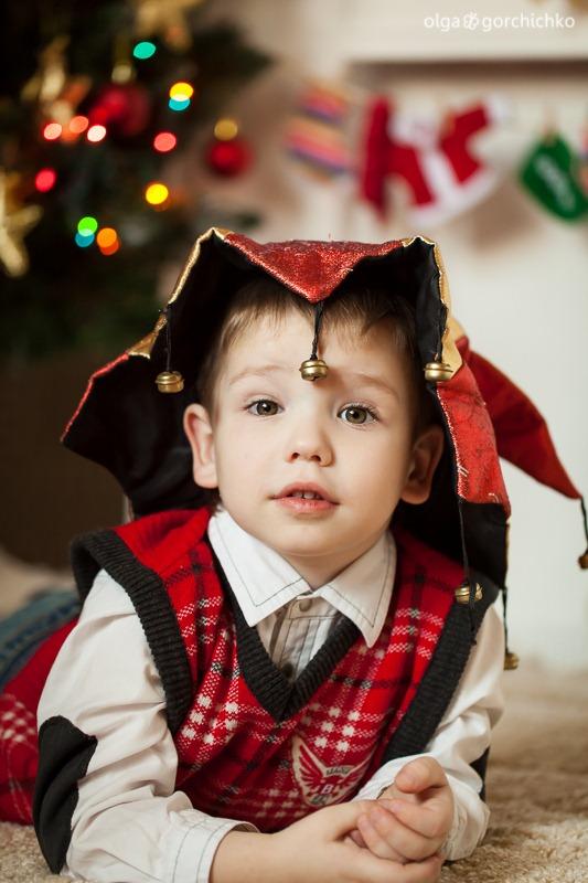 Детский новогодний фотопроект Рождественские мечты. 26. Гоша и Лея-0610