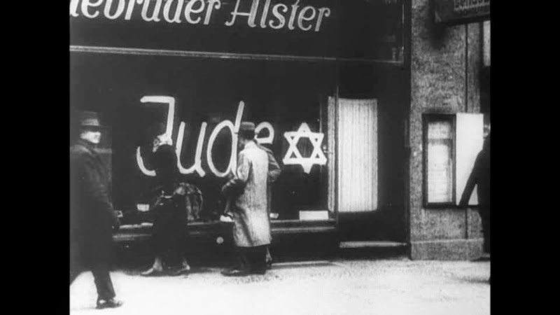 Boycott of jewish shops star of david machtergreifung jewish life