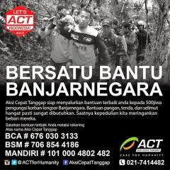 Bersatu bantu Banjarnegara