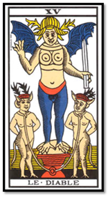 Diablo. Tarot de Grimaud
