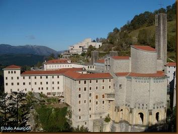Vista general - Santuario de Aranzazu - Gipuzkoa