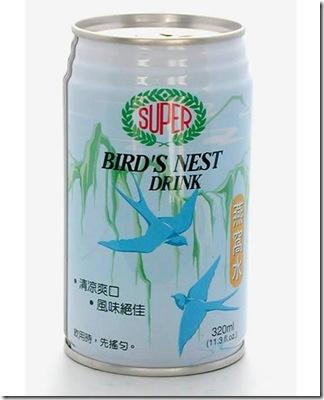Enlatado - Suco de ninho de pássaro - China