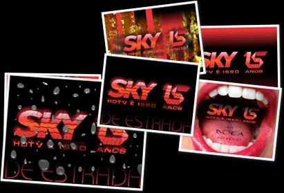 Exibir SKY HDTV Logo 15 Anos