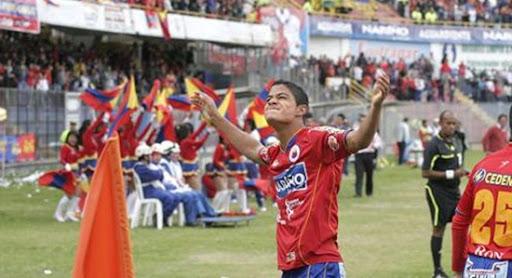 Celebración de Kevin Rendón