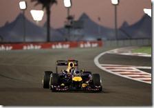 Vettel conquista la pole del gran premio di Abu Dhabi 2011