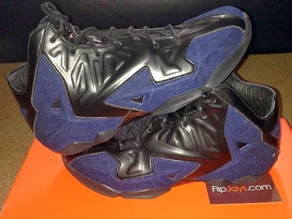 Upcoming Nike Sportswear8217s LeBron 11 EXT Denim Edition