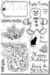 Ginger cookies mfp stamps