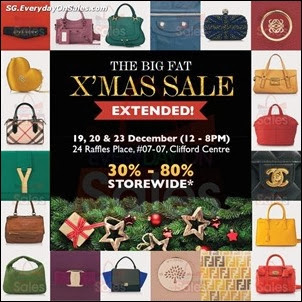 Reebonz The Big Fat Xmas Sale - Extended Jualan Gudang Jimat Deals EverydayOnSales Offers