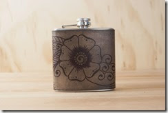 flower flask front